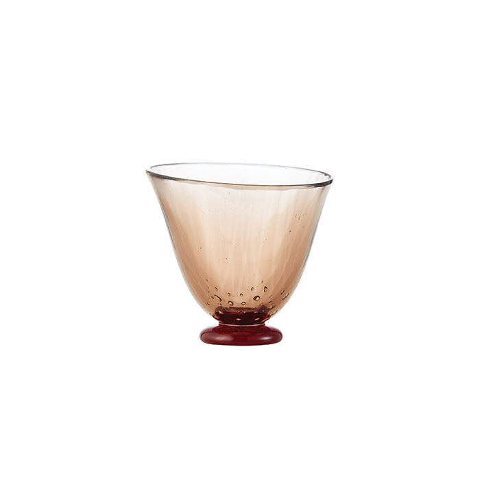 3 Steps Bubbly Shot Glass - Brown