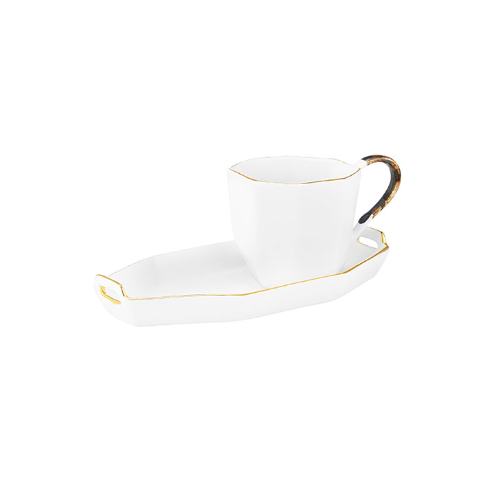 Piece Espresso Set - White