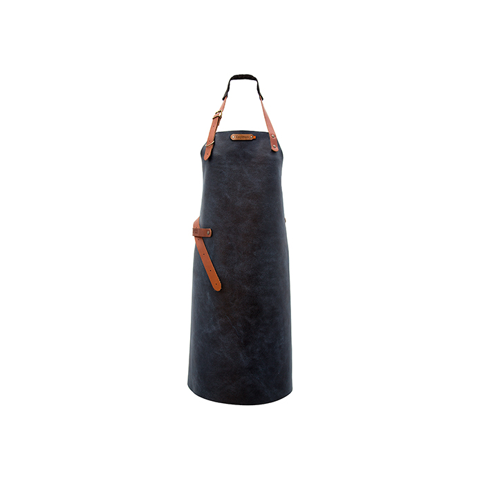 Xapron Kansas Long Apron - Blue