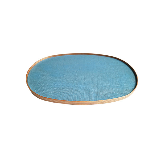 Lacquered Tray -  Blue