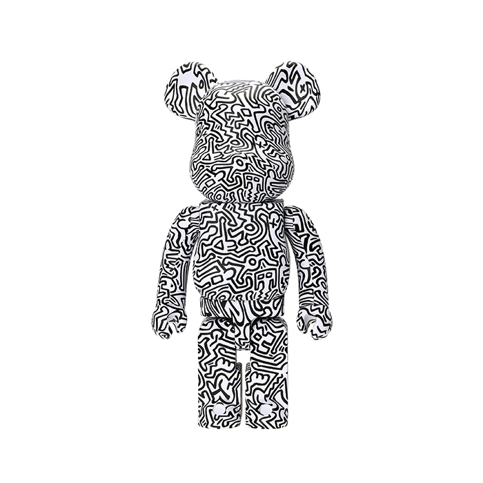 1000% Bearbrick Keith Haring #4